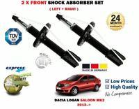 Per Dacia Logan 2 Tce Sce 1.2 1.6 1.5 DCI 2012- > Nuovo 2 X Ammortizzatore Ant