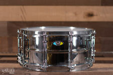"Ludwig LW6514SL Supralite Steel Snare Drum 6.5"" X 14"""