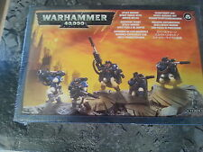 Warhammer 40K Space Marine Scout Squad avec Sniper Rifles-New & Sealed