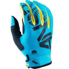 Answer Racing Syncron Gloves Aqua Yellow Adult XXL Closeout MX Dirt ATV NEW