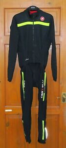 """EXCELLENT CONDITION CASTELLI SAN REMO THERMOSUIT. SIZE XL UP TO 42/43"""" CHEST"""
