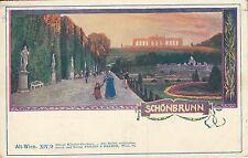 Postkarte - Alt Wien / Schönbrunn