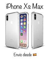 iPhone Xs Max Funda Gel antigolpes Transparente - Bordes Reforzados - Hard