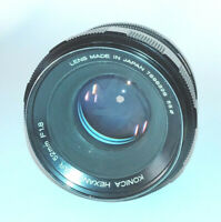 Konica Hexanon AR 52mm f/1.8 Fast Prime Camera Lens Φ55 - Konica AR