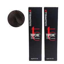 Goldwell Topchic Permanent Hair Color Tubes 5MB - Dark Jade Brown *2 SET*