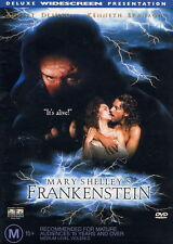 FRANKENSTEIN DVD MARY SHELLEY - Rare - Code Red OOP Region 4_Robert De Niro 1994