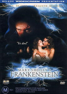 FRANKENSTEIN DVD MARY SHELLEY - Rare - Code Red OOP Region 4_Robert De Niro 1994