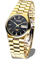 Citizen Classic Automatic Men's Gold Stainless Strap Watch NH3742-56E
