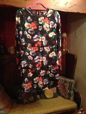 "Bnwot Warehouse Silk Dress 10 36"" L33"""