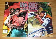 Rio At Bay #1-2 VF/NM complete series - doug wildey - dark horse comics western