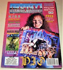 RARE Vintage 1990 METAL FORCES Magazine #50 - KISS,SLAYER,ICON,SOUNDGARDEN,GIANT