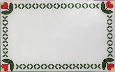 Hanover Tulip Embroidered quilt label, quilt block themed to customize w/ text