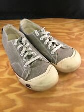 Keen Womens Vulcanized Canvas Shoes Outdoor Hiking Walking Brown Gray  Size 9