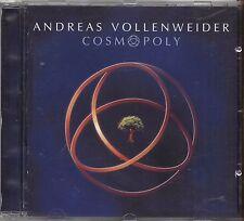 ANDREAS VOLLENWEIDER - Cosmopoly - CD 1999 USATO OTTIME CONDIZIONI