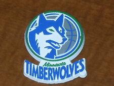 MINNESOTA TIMBERWOLVES Vtg NBA RUBBER Basketball FRIDGE MAGNET Standings Board