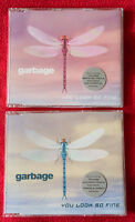 Garbage – You Look So Fine CD 1 + CD 2 Uk set complete Shirley Sexy Manson