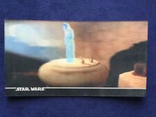 STAR WARS A New Hope TOPPS WIDEVISION 3D CARD 13 leia R2D2 hologram 3Di