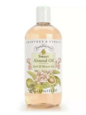 Crabtree and Evelyn Sweet Almond Oil Bath & Shower Gel Large 16.9 oz New!