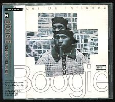 Boogie - Under Da Influenz JAPAN CD OBI 1994 SRCS-7529 Shocked,Money And Da High