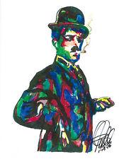 Charlie Chaplin City Lights Modern Times Silent Film Print Poster Art 8.5x11