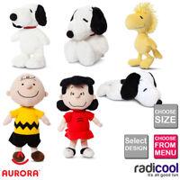 Aurora PEANUTS PLUSH Cuddly Soft Toy Teddy Kids Gift Brand New