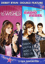 16 Wishes/Radio Rebel (DVD, 2014, 2-Disc Set)
