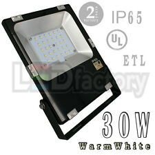 30W Ip65 Ul (Warm White-3000K) Led Flood Light -Outdoor Use /Led-Factory (#2458)