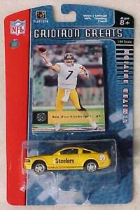 Pittsburgh Steelers Ford Mustang GT Upper Deck Roethlisberger Card New in Pack