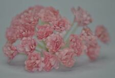 100 PEACH PINK GYPSOPHILA miniature Mulberry Paper Flowers wedding