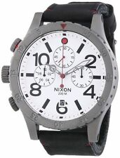 Nixon Stainless Steel Band Sport Wristwatches