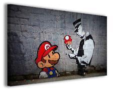 Quadro moderno Banksy vol XVII stampa su tela canvas arredamento moderno poster