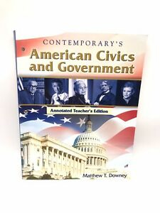 American Civics And Government - TEACHER'S EDITION