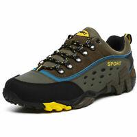 Men's Outdoor Hiking Climbing Shoes Trail Sneakers Breathable Walking Shoes