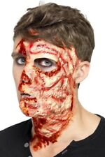 Burnt Face Scar Latex Adult Unisex Smiffys Fancy Dress Costume Accessory