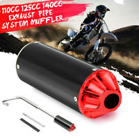 Performance CNC Exhaust Pipe System Muffler for 110cc 125cc 140cc Pit Dirt Bike