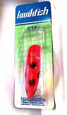 """Luhr-Jensen K14 Kwikfish Length 4-1/4"""" Fire/ Black Dot"""