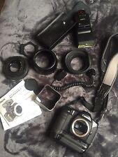Vintage Canon ES0-1 Camera Body with accessories