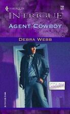 Agent Cowboy (The Colby Agency) by Webb, Debra, Good Book