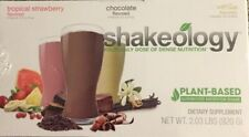 New Sealed Shakeology BEACHBODY (24) Packets - Vegan 3 Varieties- 7/2020
