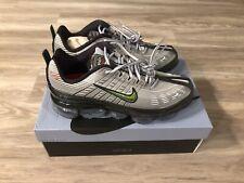 Nike Air Vapormax 360 Mens Size 9.5 Metallic Silver & Max Orange New With Box