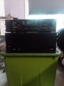 Adcom GFA 7500 Power Amplifier and Adcom GTP 750 Pre-Amplifier