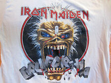 Vintage IRON MAIDEN California Tour Concert Shirt 1988 Lg True Vintage Original