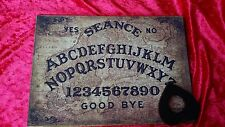 Wooden Ouija Board & Planchette Magic Old Baltic Oracle  spirit EVP ghost Seance