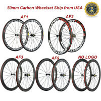 700C Carbon Wheels 50mm Road Superteam Carbon Wheelset High TG Bicycle Wheels