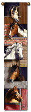"""40"""" HORSE Western Bell Pull Tapestry Wall Hanging"""