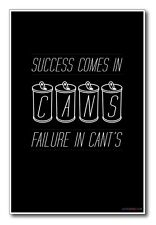 Cans and Cant's - NEW Classroom Motivational Poster