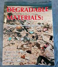 DEGRADABLE MATERIALS Perspectives, Issues & Opportunities ~Barenberg ed ~1990 pb