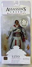"EZIO LEGENDARY ASSASSIN UNHOODED Assassin's Creed Brotherhood 7"" Figure TRU 2011"