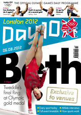 * OLYMPIC GAMES DAY 10 PROGRAMME LONDON 2012 *
