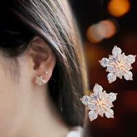 bijoux les femmes boucles d'oreilles boucles d'oreilles pierre flocon de neige